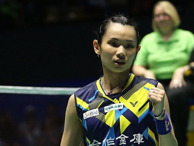 Fourth title in a row for Tai Tzu Ying
