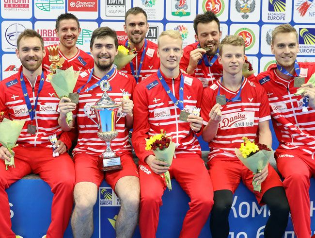 Dominance of Denmark continues - The Champion of 2018 European Men's and Women's team championship
