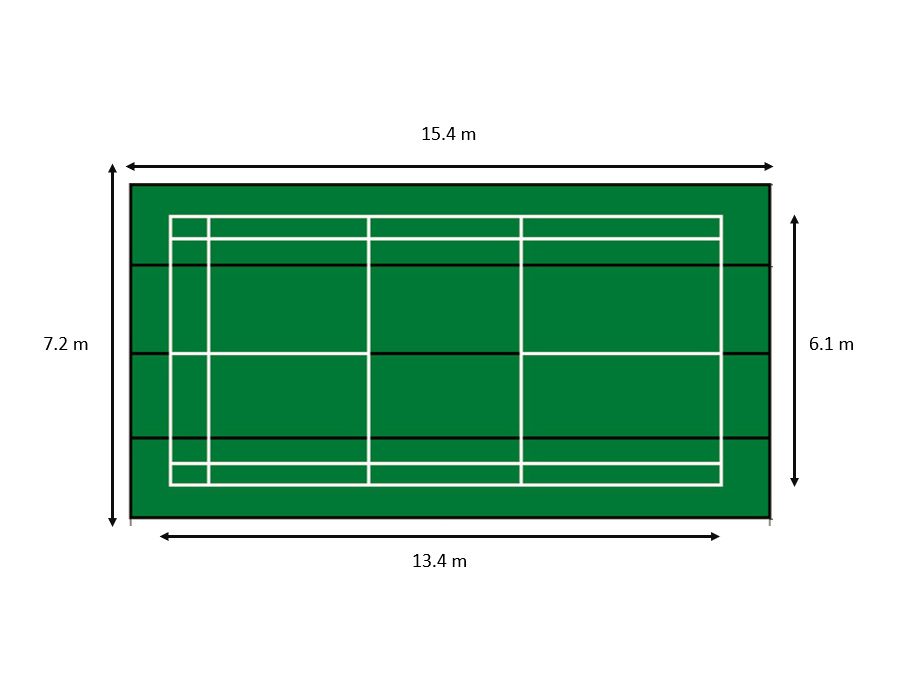 Mobile Plastic Court C-7057